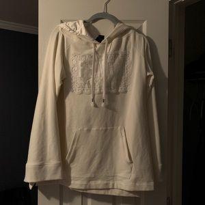 Puma Tops - Fenty puma white goddess sweatshirt